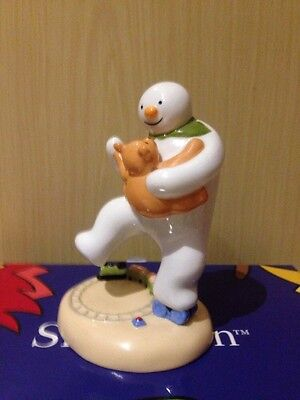 The Snowman 'Dancing With Teddy' Coalport Characters Figurine