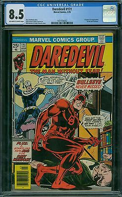 Daredevil 131 CGC 8.5 - OW/W Pages