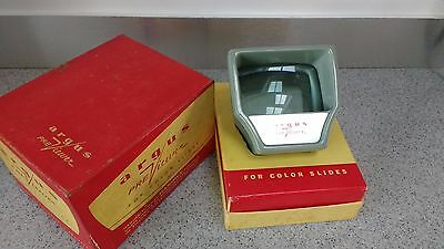 """Vintage Argus """"Previewer"""" 35mm Slide Viewer By Hanimex - Boxed - c1960's"""