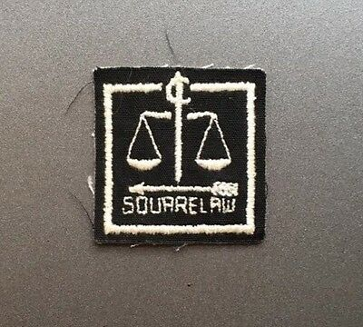 Vintage South African district badge SQUARE LAW / Africa Scouts