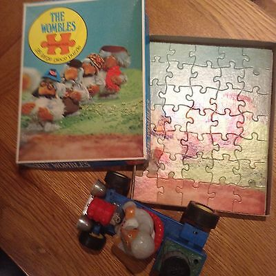Marx Toys The Wombles Womblemobile And Jigsaw Puzzle C1970S