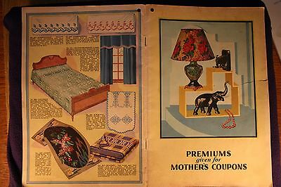 Mother Oats Premium Catalog c1930