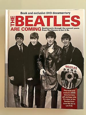 The Beatles are coming (libro + documentario in dvd) nuovo