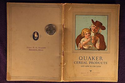 "1927 ""Quaker Cereal Products and How to Use Them"" Book"