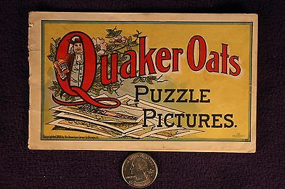 Quaker Oats Puzzle Pictures copyright 1900 15 pgs
