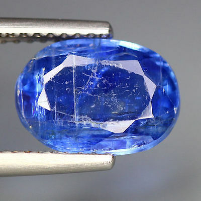 3.18 Cts_Simmering Ultra Nice Blue Color Gemstone_100% Natural Unheated Kyanite