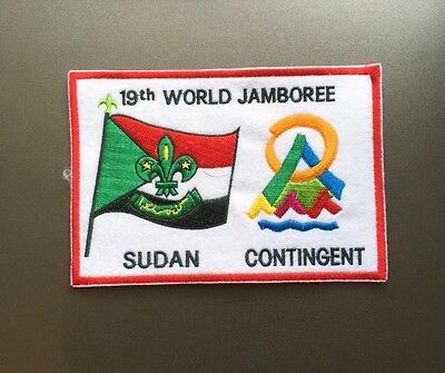 Sudan Contingent 19th World Jamboree badge / Africa Scouts / African scout patch