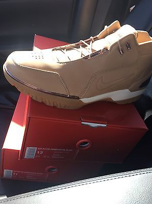 4a9c9afa2aea7 Nike Air Zoom Generation Lebron 11 All Star Vachetta Tan 308214-200 Wheat  AS QS