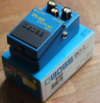 Boss BD-2 Blues Driver Guitar Effects Pedal Stomp box BD2 Overdrive Distortion