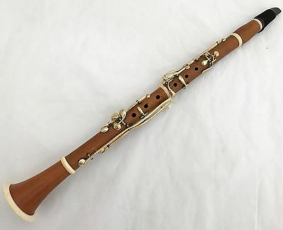 Dupeyrat Antique French Boxwood Bb Clarinet 13 Keys 440Hz - Complete Overhauled
