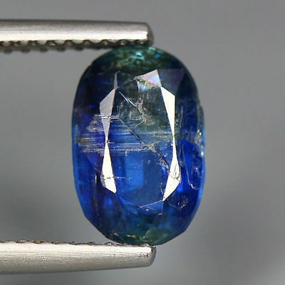 2.72 Cts_Simmering Ultra Nice Blue Color Gemstone_100% Natural Unheated Kyanite