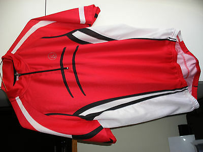 Cycling Jersey - Mens Large; Polyester-Coolmax