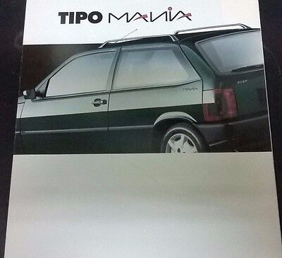 Brochure Fiat Tipo Mania in italiano 1994