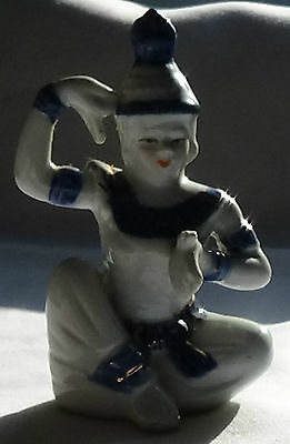 Blue and White Chinese Figurine