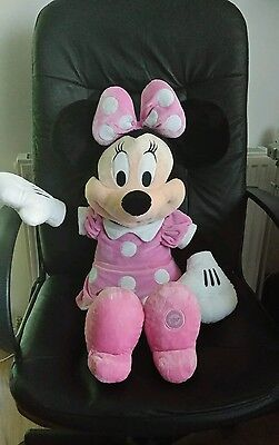 """Minnie Mouse Clubhouse Disney Soft Plush Toy Giant 30"""" Disney Store Official"""