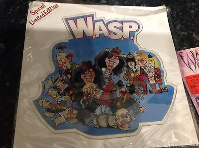 "W.A.S.P The Real me Shaped Vinyl 7"" And Mean Man Single"