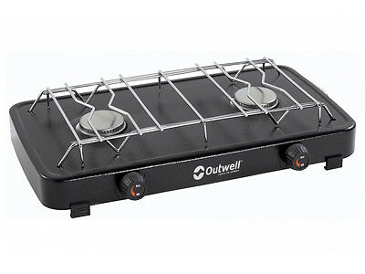 Outwell Chef Cooker Deluxe 2-Burner Stove 5709388027252