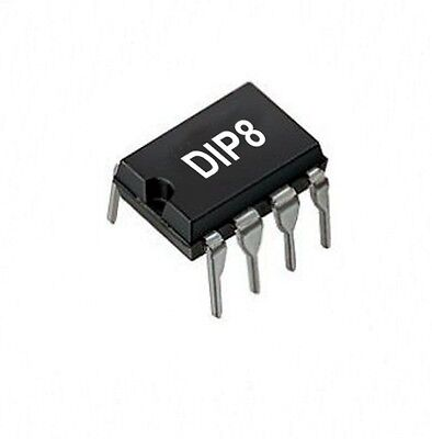 LM393M - 2-fach Differential Komparator, DIP8,  LM393, 1St.