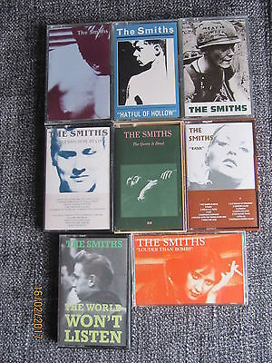 "THE SMITHS ""COMPLETE""  ALBUM COLLECTION on CASSETTE, ALL IN GREAT CONDITION"
