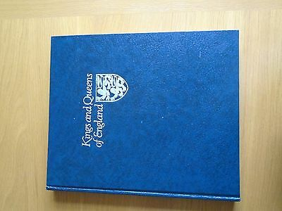 A Collection Of First Day Covers Kings And Queens Of England 1977