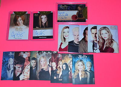 Buffy The Vampire Slayer Ultimate Collector's Set 2017 Series 2 FULL MASTER SET