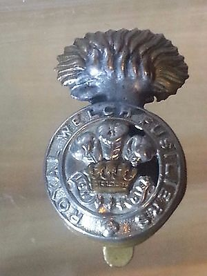 WW2 The Royal Welsh Fusiliers  Hat/Cap Badge