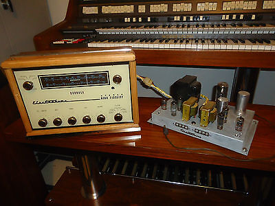 Stereo Tube  Amplifier 6Aq5 + Tube Preamp & Tuner  Electrohome Chorale