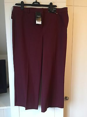Size 18 Slim Crop Trousers From Next BNWt