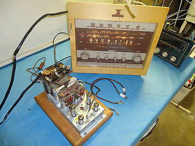 S.e Tube Stereo Amplifier  + Tuner Pre Amp , Nordmende The Isabella , Very Nice