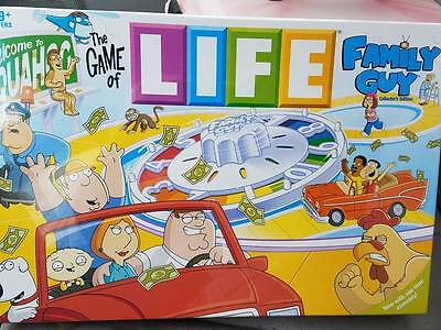 The Game of Life: Family Guy Collector's Edition - Factory Sealed !