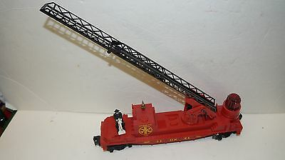 Lionel O - O-27 6-16688 Red Fire Ladder    Car =  No Box
