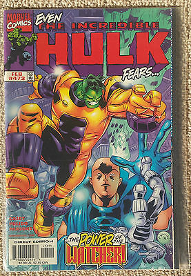 The Incredible Hulk Issue 473 (1999) FIRST PRINT