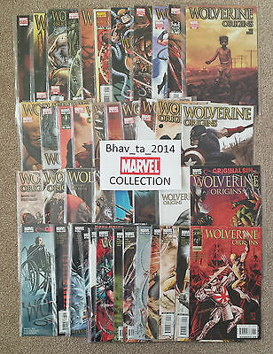 Wolverine Origin Vol 1 issues #1 - #43 WHOLE COLLECTION UNBROKEN inc Variants, A