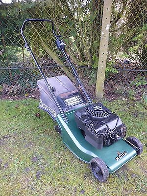 """Hayter Harrier 41 Roller Petrol Lawnmower 16"""" Cut Delivery Up To 50m"""