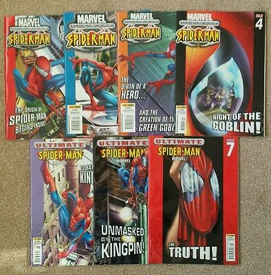 Ultimate Spider-Man - Issues 1 - 7 (2002) FIRST PRINT