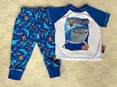 "Disney / Pixar Finding Nemo Pyjamas - 18-24 Months - ""You're Shark Bait"""
