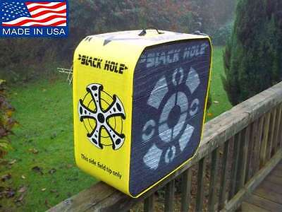 Black Hole Bag Archery Target Stand Broad Block Portable Outdoor Bow Hunting
