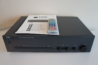 NAD C320 Integrated Amplifier with Upgrades