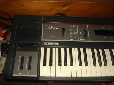 Ensoniq SQ 80 SQ80 SQ 80 Cross Wave Synthesizer