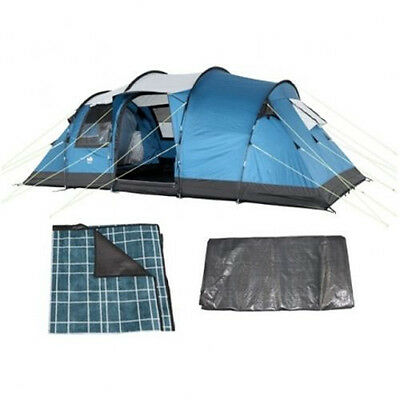 SPECIAL Royal Brisbane 6 Person Family  Tent FREE Footprint & Carpet