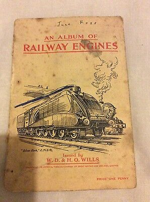 an album of Railway Engines, complete