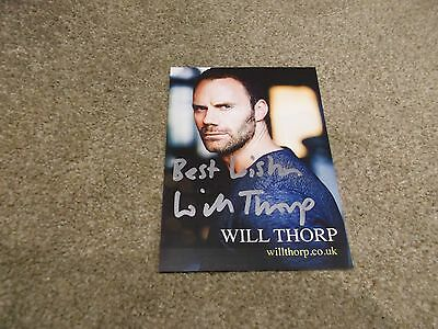 Will Thorp Hand Signed Photo Card