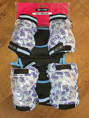 Mini Micro Scooter/Skate - Knee/Elbow Pads Size Small / Age 3-6