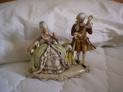 Lovely Continental Figurine.