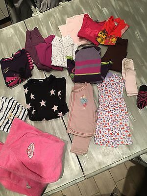 Lot De Vêtements Fille 4- 5 Ans TBE