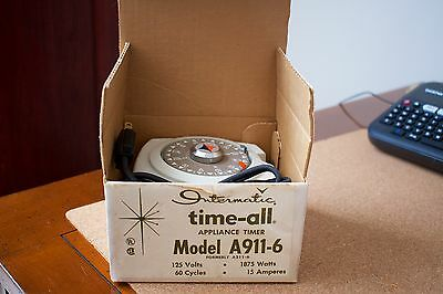 Vintage Intermatic Time-all model A911-6 A211-6 new in box, never used 2m warr.