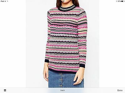 asos maternity knitted sweater size 12