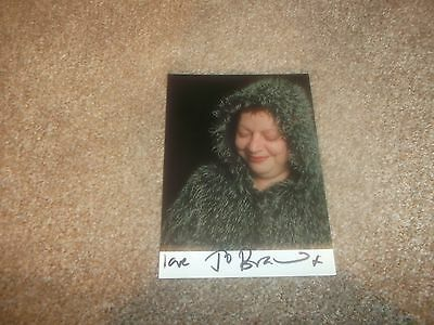 Jo Brand (Stand-Up Comedian) Signed PR Card