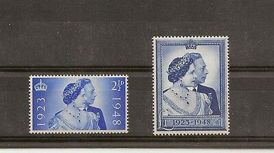 Great Britain 1948 Silver Wedding MNH/Unmounted mint