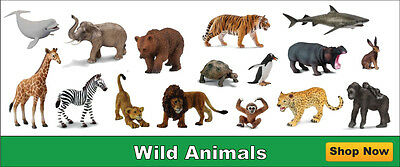 Schleich Wild Animal Models Choice of 8 Animals all with Tags NEW 2016 sealed